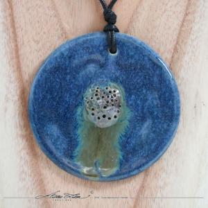 Céramique_Collier_Camomille Bleu Azur_80mm_03_ElizaLutz