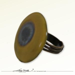 Ceramique_Bague_Marguerite Jaune 01_30mm_01_Eliza Lutz
