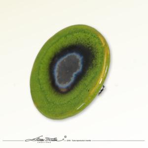 Ceramique_Bague_Marguerite Vert Praire_45mm_01_Eliza Lutz